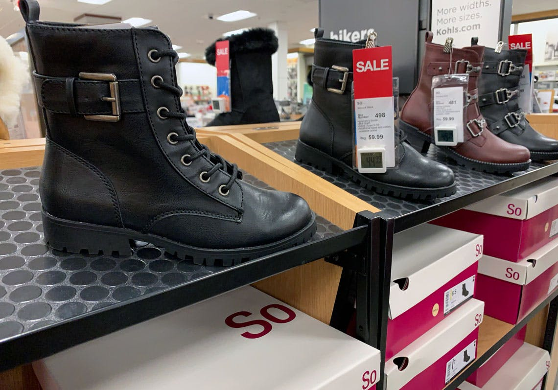 Women's Clearance Boots, as Low as $17