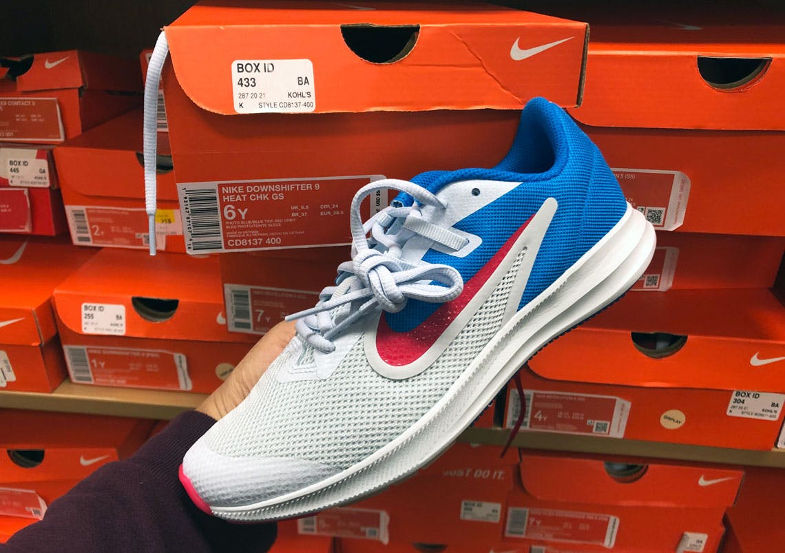 Save Over 50% on Kids' Nike Sneakers at