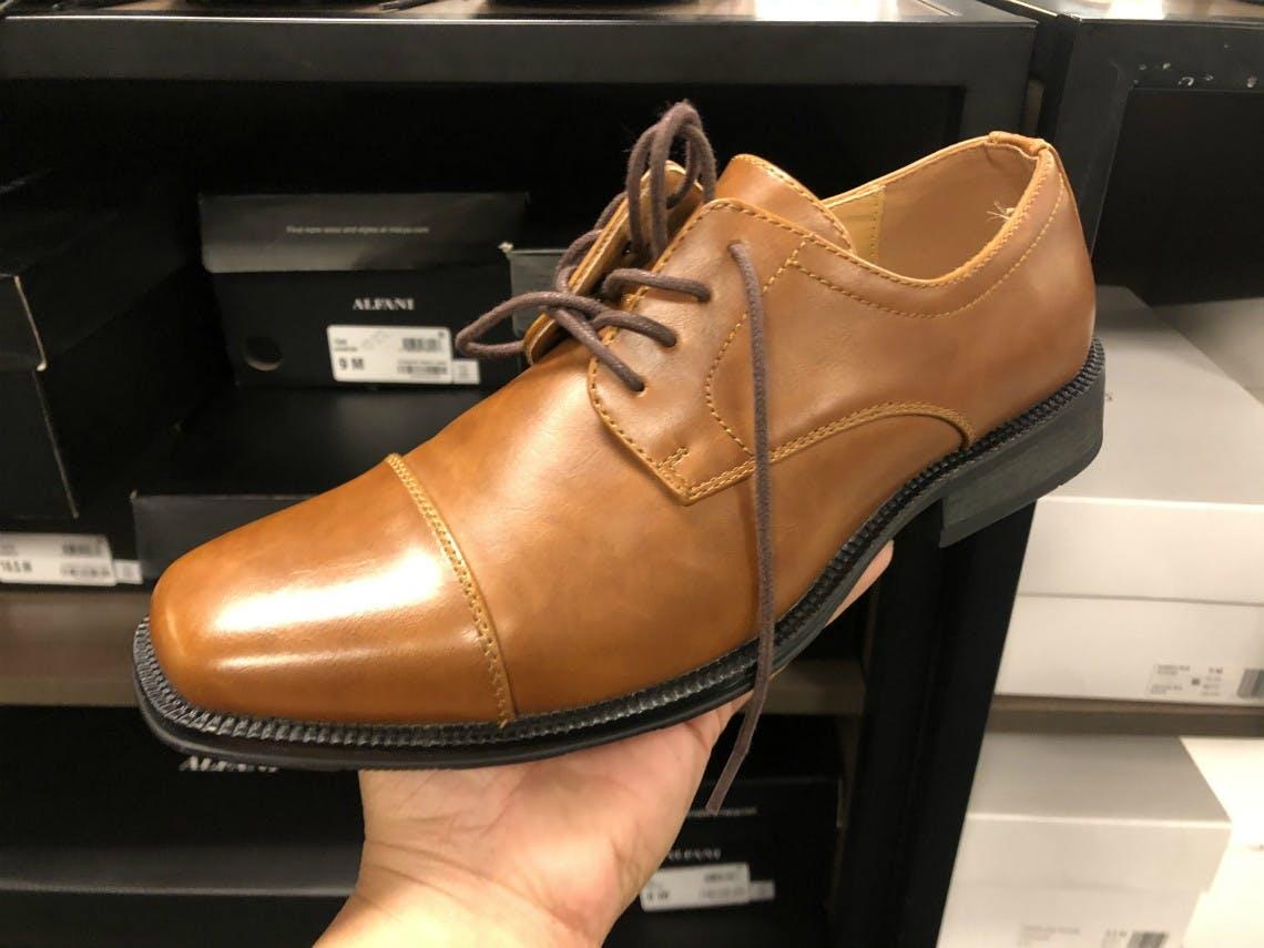 Alfani Men's Dress Shoes, Only $29.99