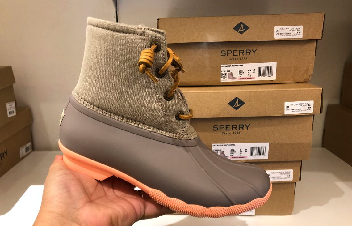 Black Friday Price! Sperry Duck Boots