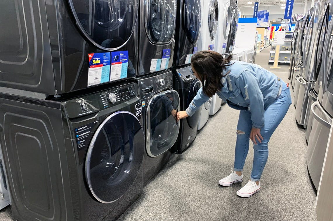 Early Black Friday At Best Buy 310 Off Samsung Washer Dryer The Krazy Coupon Lady