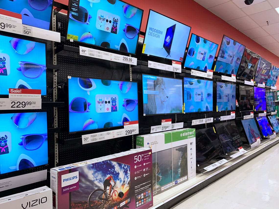 55 Smart Tv Only 285 At Target Reg 450 The Krazy Coupon Lady