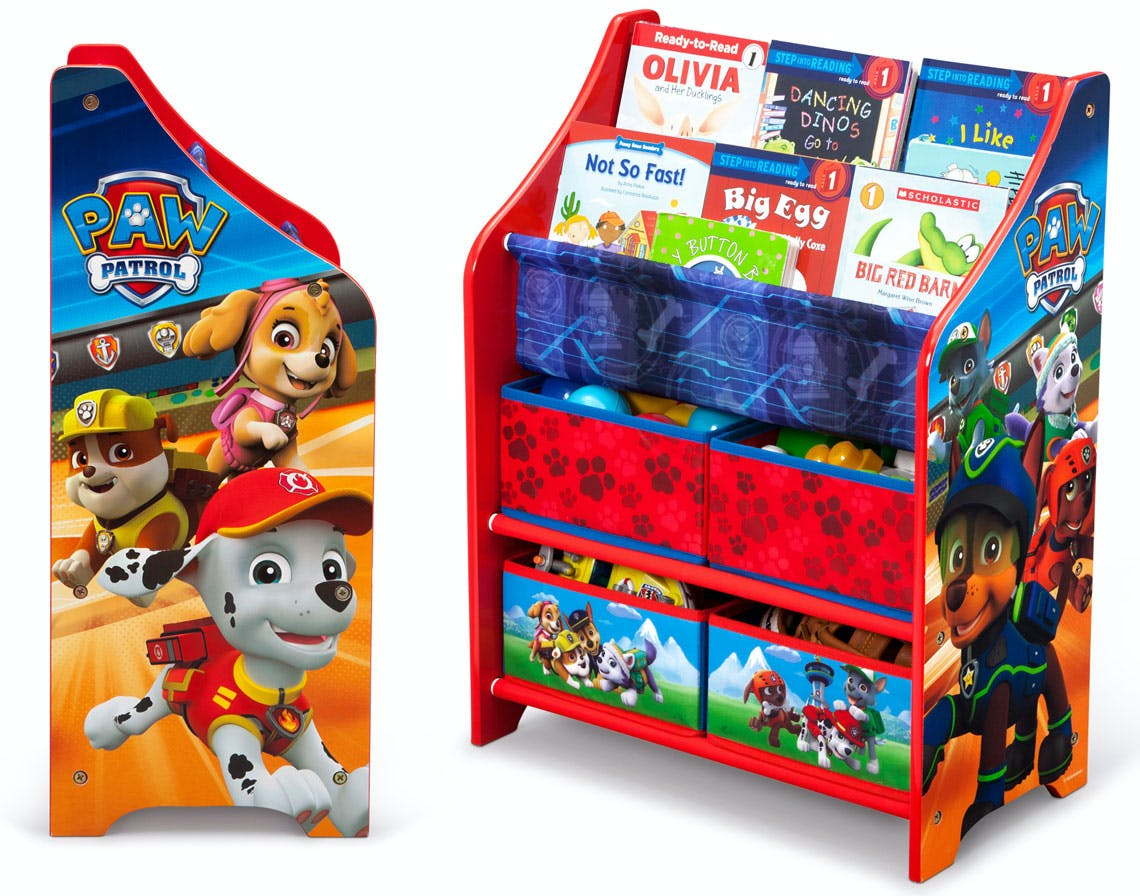 Disney Kids Book Toy Organizers Just 18 63 At Walmart The Krazy Coupon Lady