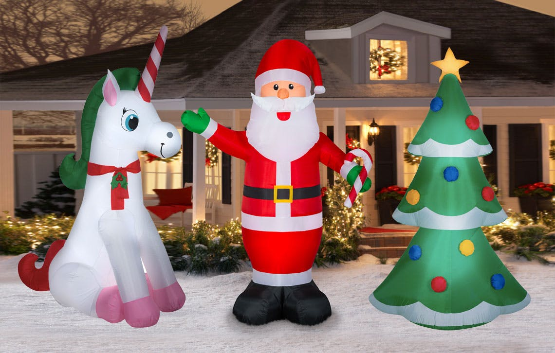 Lowes Christmas Inflatables 2020 Run! Christmas Inflatables, as Low as $7 at Lowe's!   The Krazy