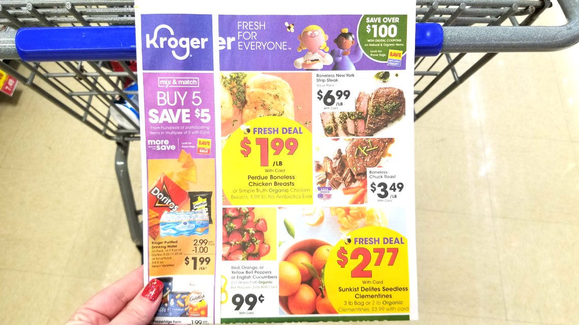 Kroger Weekly Coupon Deals 1 2 1 7 The Krazy Coupon Lady