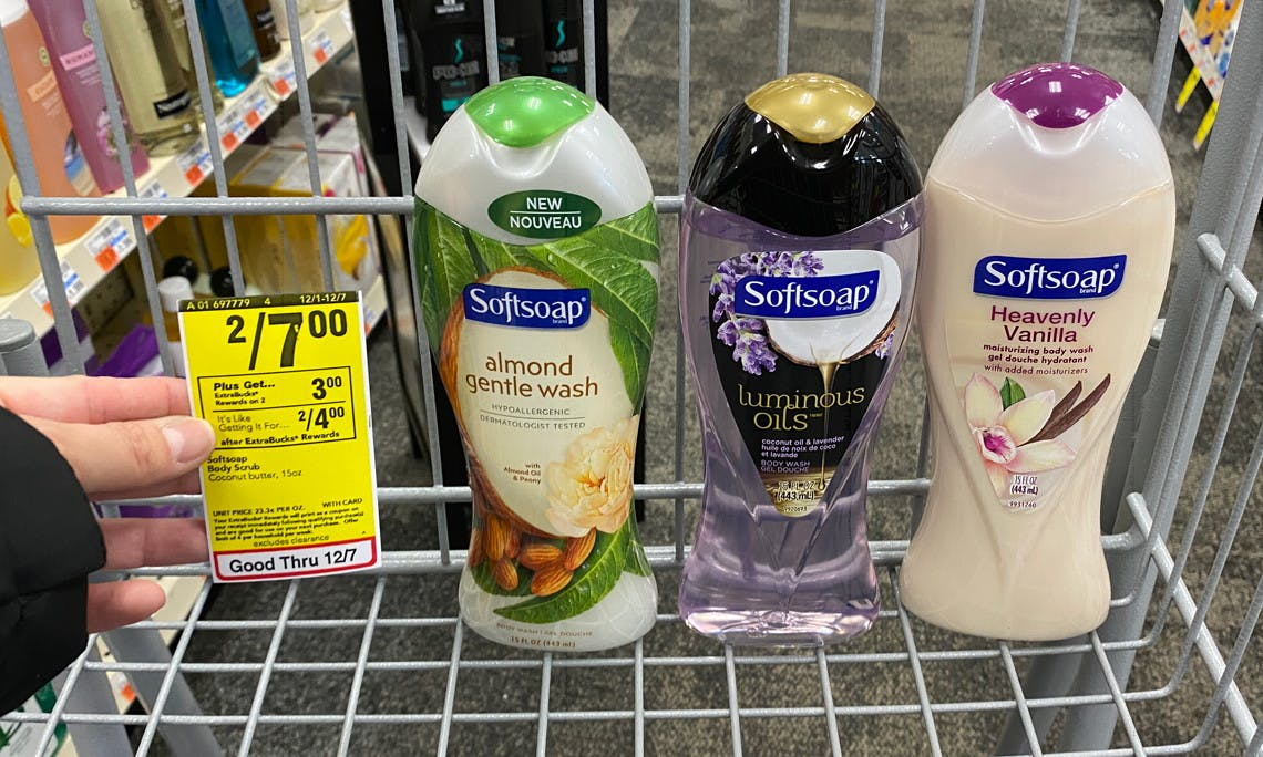 Stock Up Softsoap Body Wash Only 1 25 At Cvs The Krazy Coupon Lady