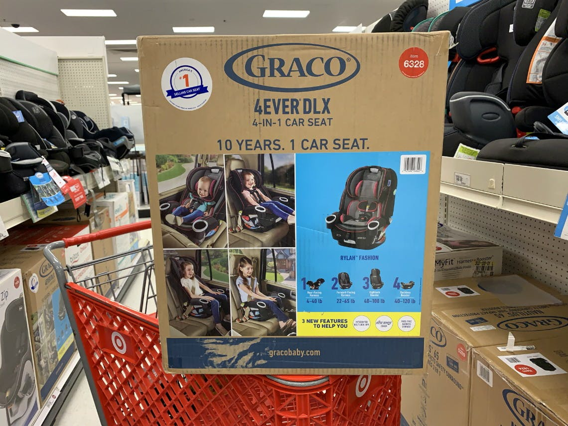 Graco 4ever Dlx 4 In 1 Convertible Car Seat Only 189 99 At Target The Krazy Coupon Lady