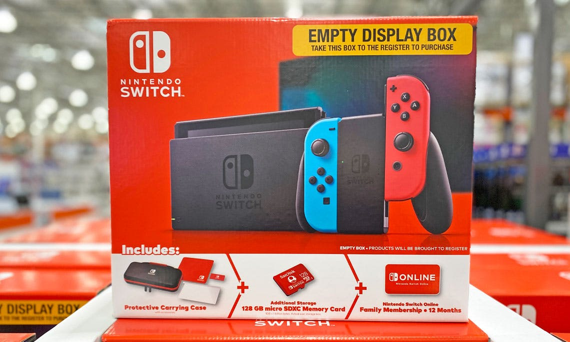 Nintendo Switch Bundle Only 349 99 At Costco The Krazy Coupon Lady We expect stock to vanish rapidly prior to the pandemic, the nintendo store was a great source for new and refurbished nintendo switch consoles. nintendo switch bundle only 349 99 at