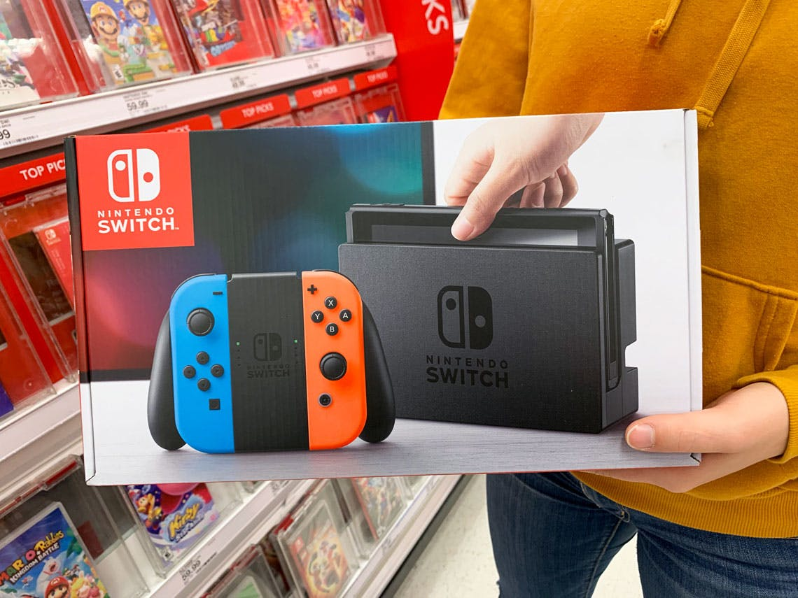 Nintendo Switch Only 256 49 At Target The Krazy Coupon Lady