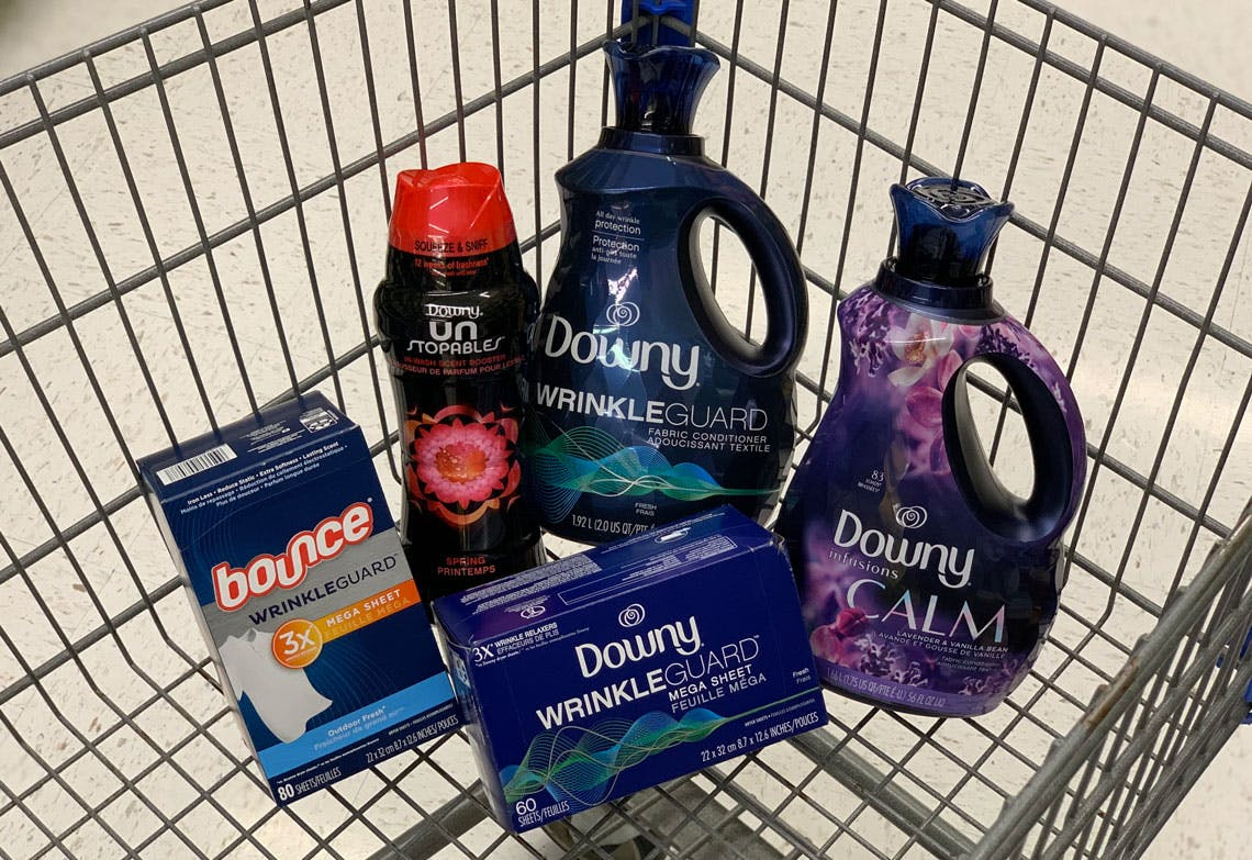 Save 2 00 On Downy And Bounce At Walmart With Ibotta The Krazy Coupon Lady