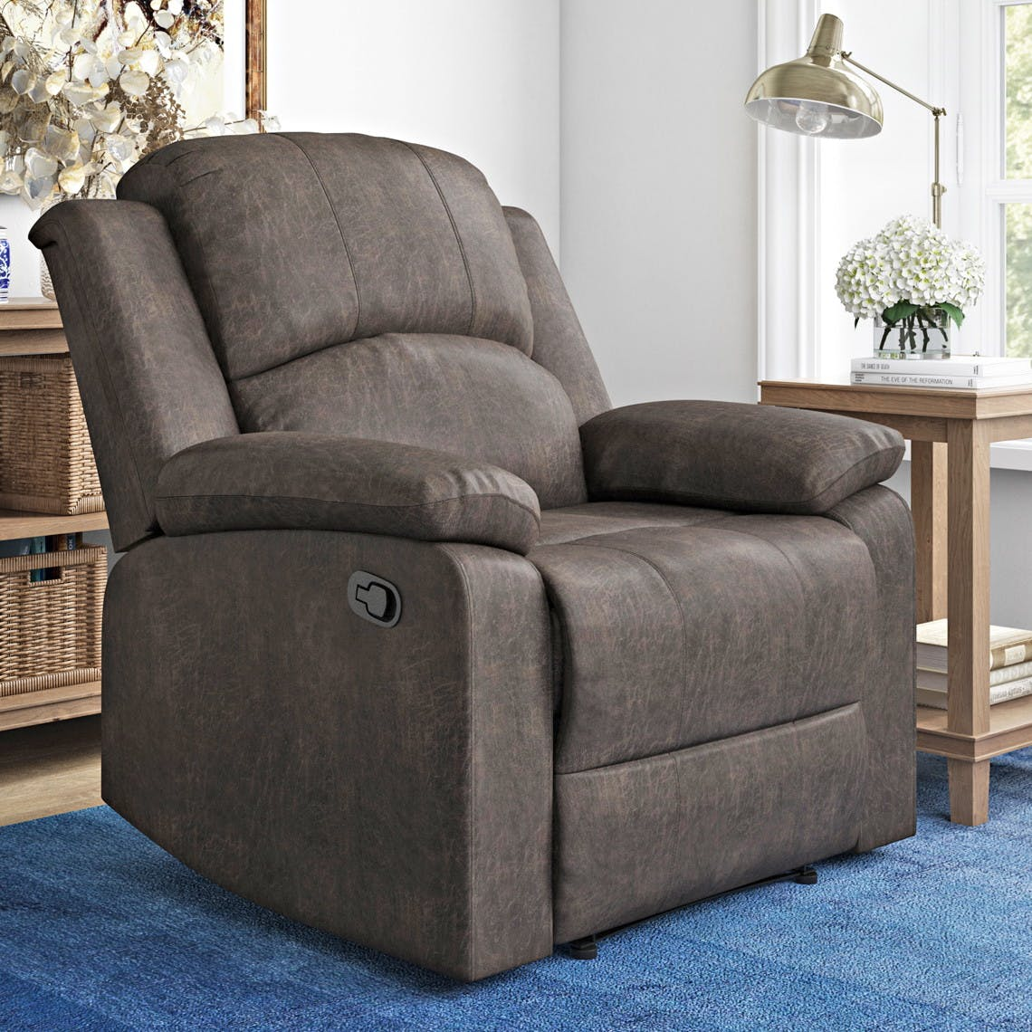 Manual Recliner Just 149 At Walmart The Krazy Coupon Lady