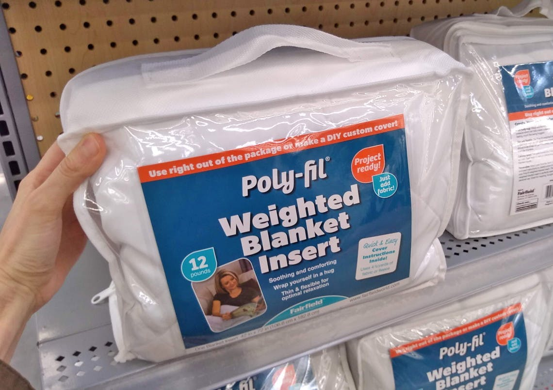 Poly Fil 12 Pound Weighted Blanket Insert 14 97 At Walmart The Krazy Coupon Lady