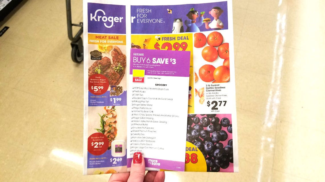 Kroger Weekly Coupon Deals 1 15 1 21 The Krazy Coupon Lady