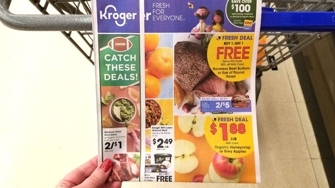 Kroger Weekly Coupon Deals 1 8 1 14 The Krazy Coupon Lady