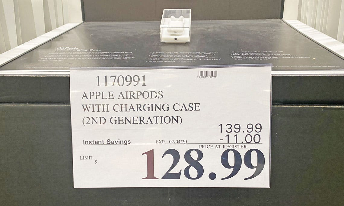Apple Airpods 2nd Gen Only 128 99 At Costco The Krazy Coupon Lady