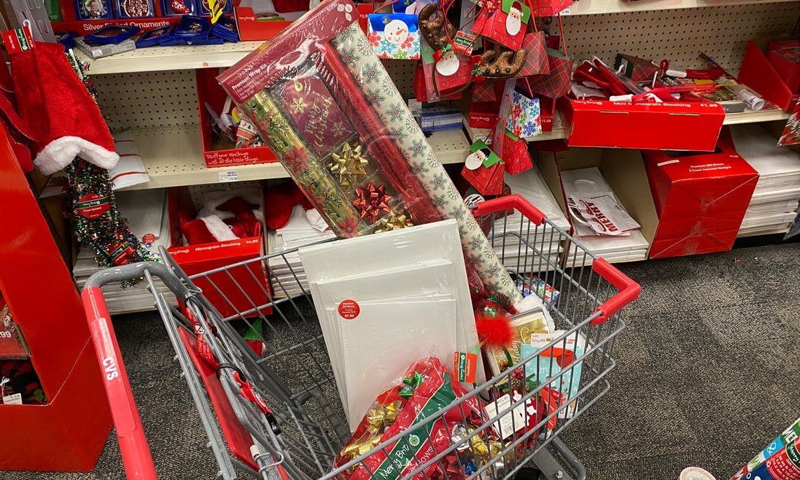 Christmas Clearance at CVS: 90% Off Cards, Ornaments, Gift Wrap
