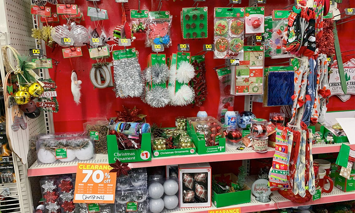Does Dollar Tree Have Christmas Clearance 2020 Up to 70% Off Christmas Items at Dollar General!   The Krazy