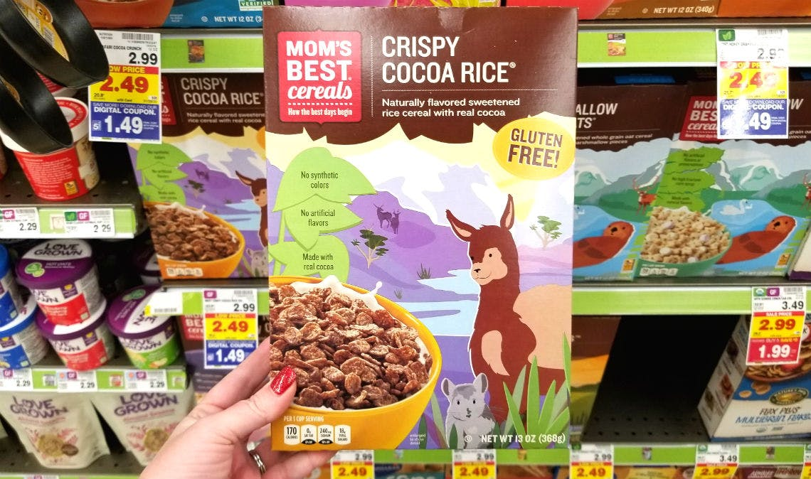Mom S Best Cereals Only 1 49 At Kroger With 5x Ecoupon The Krazy Coupon Lady