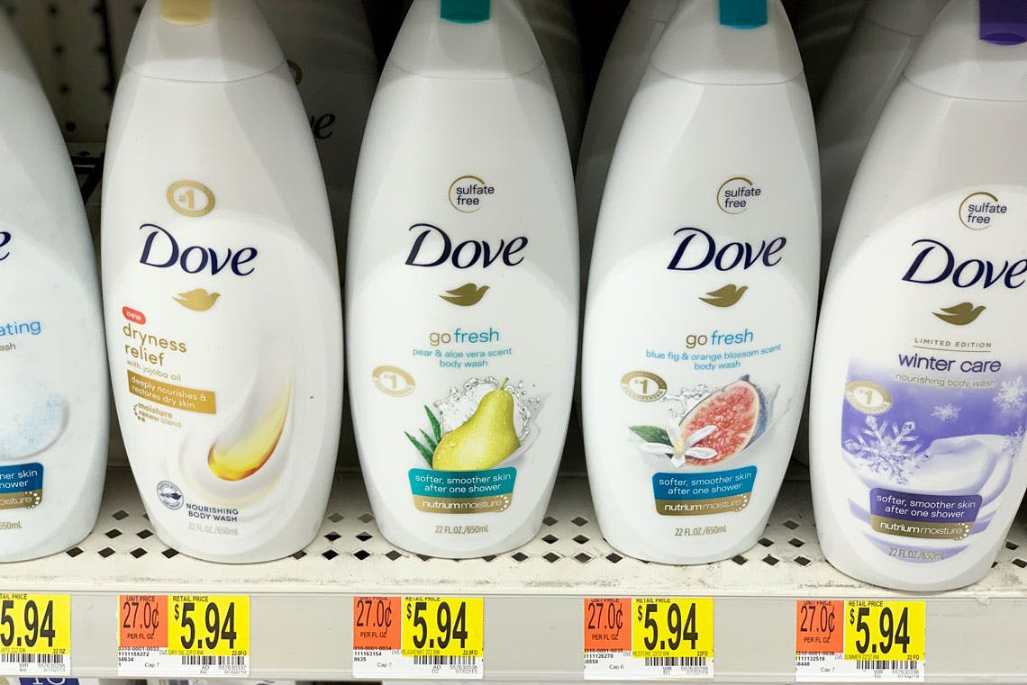 Dove Dove Men Body Wash As Low As 3 44 At Walmart The Krazy Coupon Lady