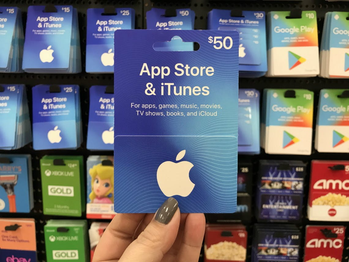 50 Apple App Store Itunes Gift Card Only 42 75 At Target The Krazy Coupon Lady