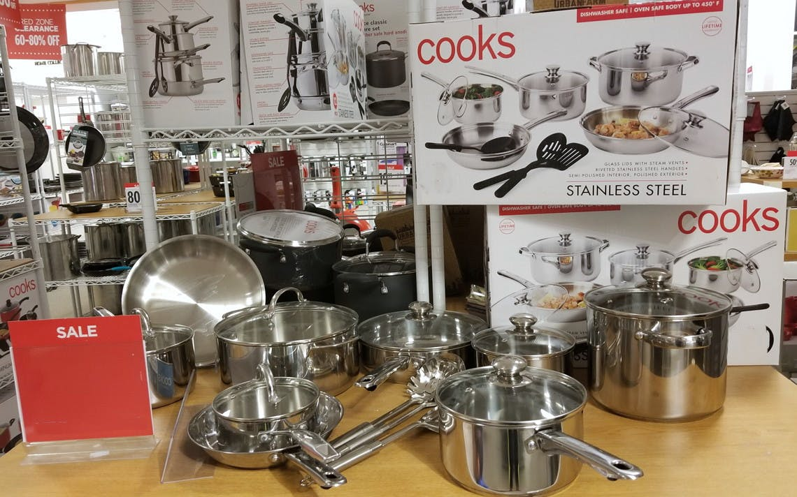 7-Piece Kitchen Set, Only $7 at JCPenney Cookware Sale - The