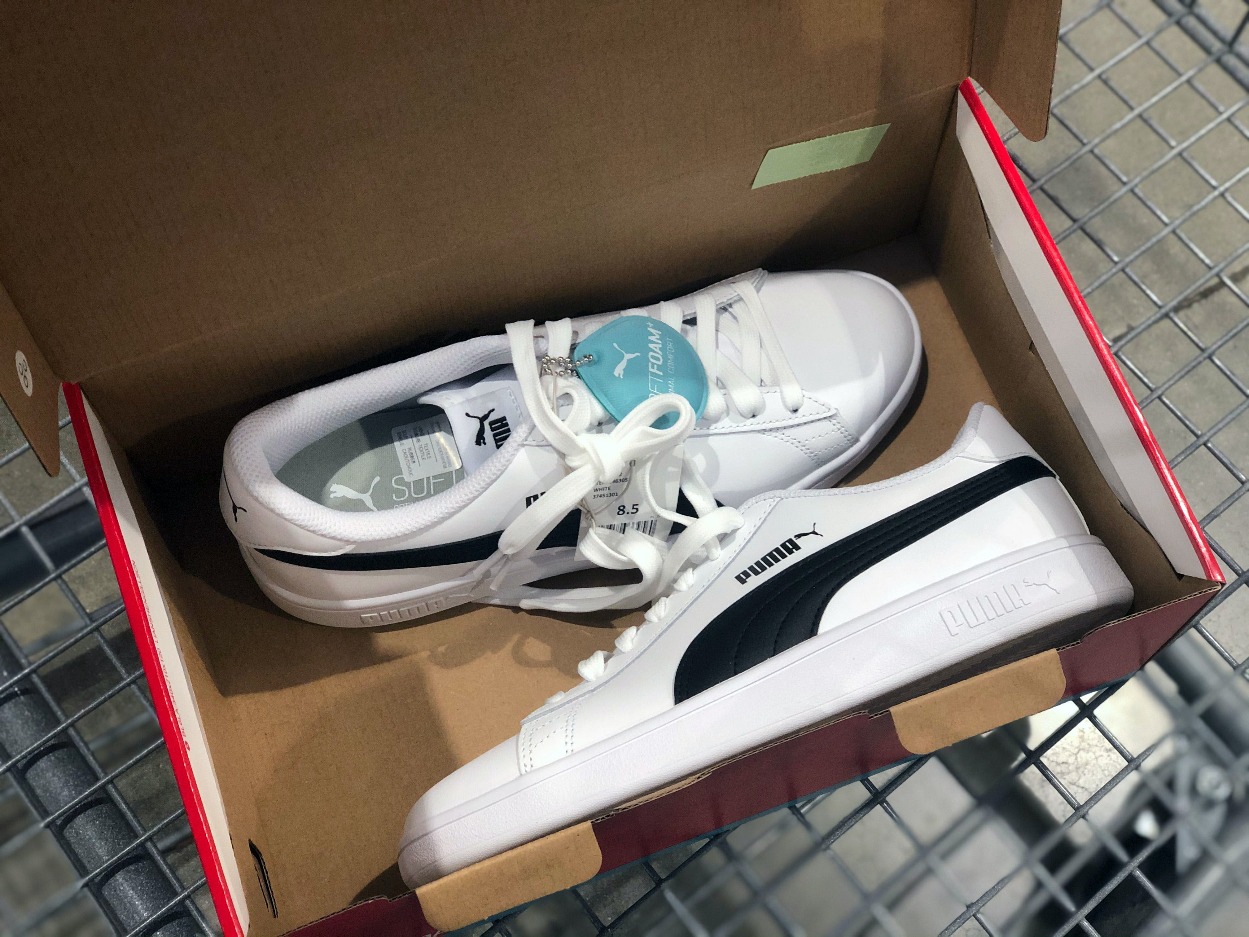 PUMA Leather Shoes, Only $23 at Costco - $60 Value - The ...