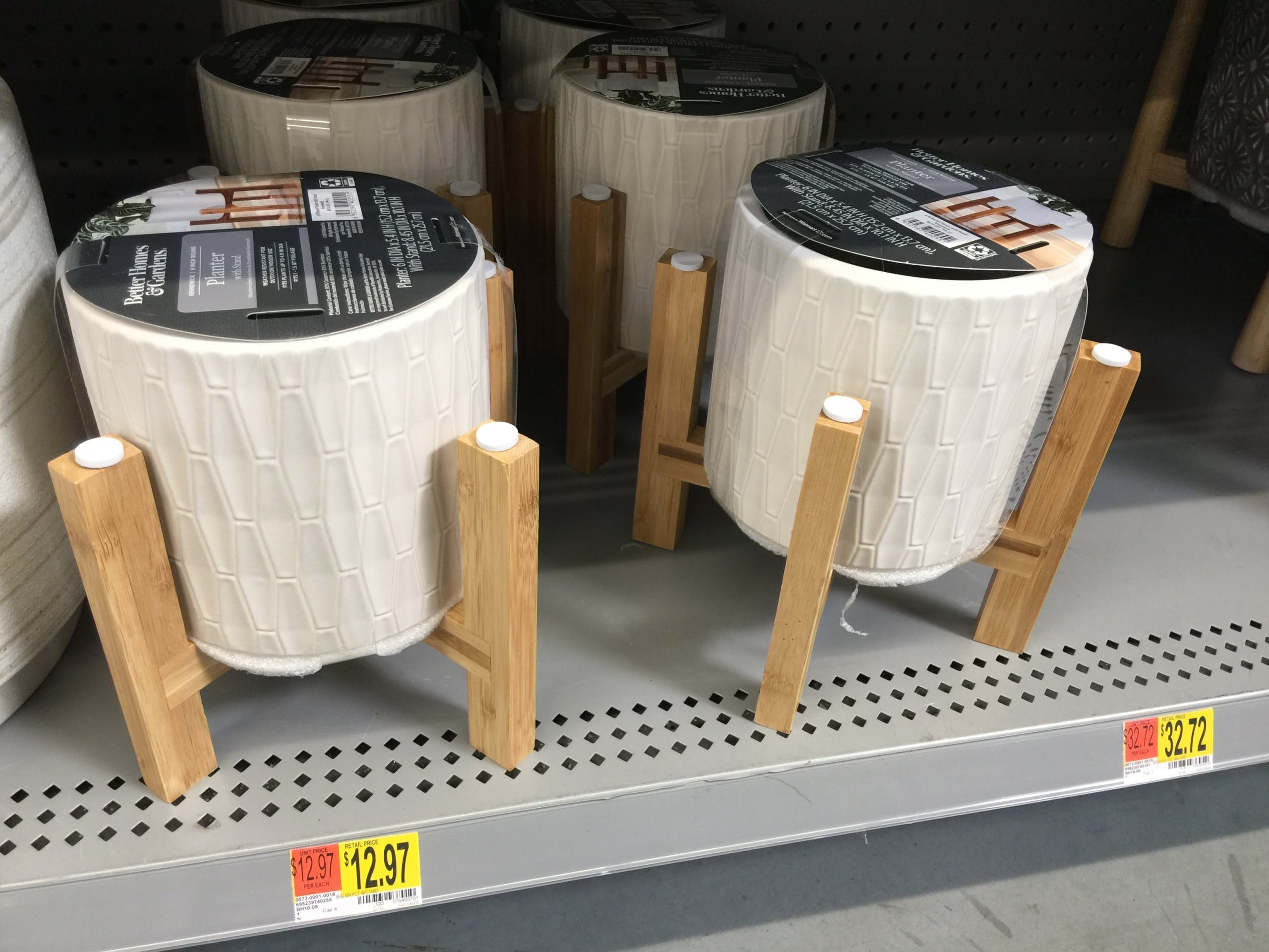 New Better Homes Gardens Planters At Walmart The Krazy Coupon Lady