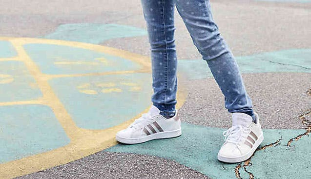 Adidas Kids' Court Shoes, Only $14.99