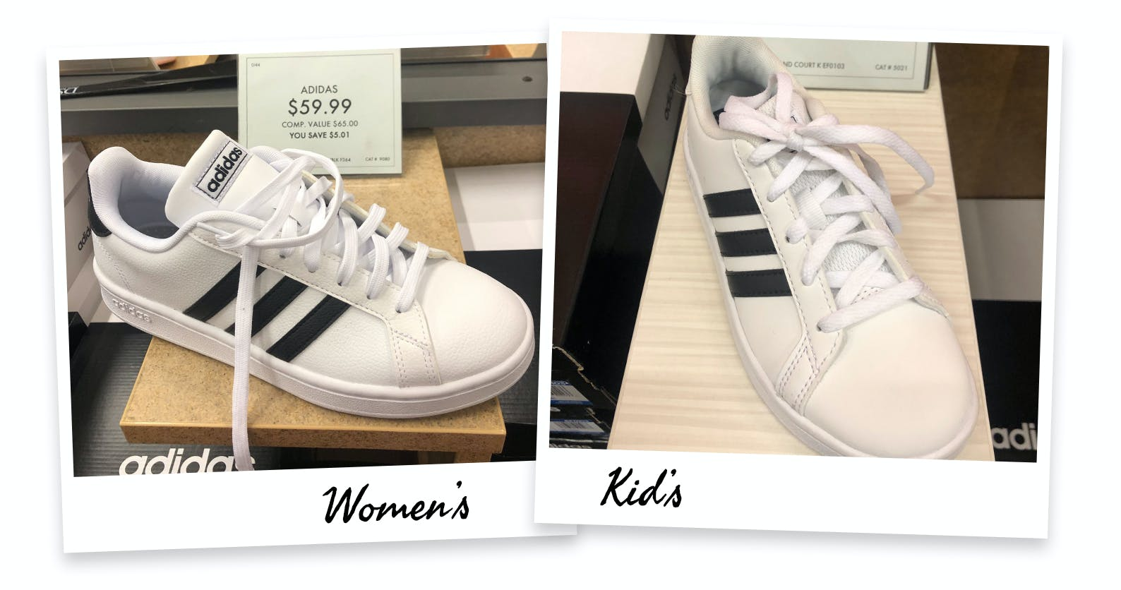 womens size 5 equal children's shoe