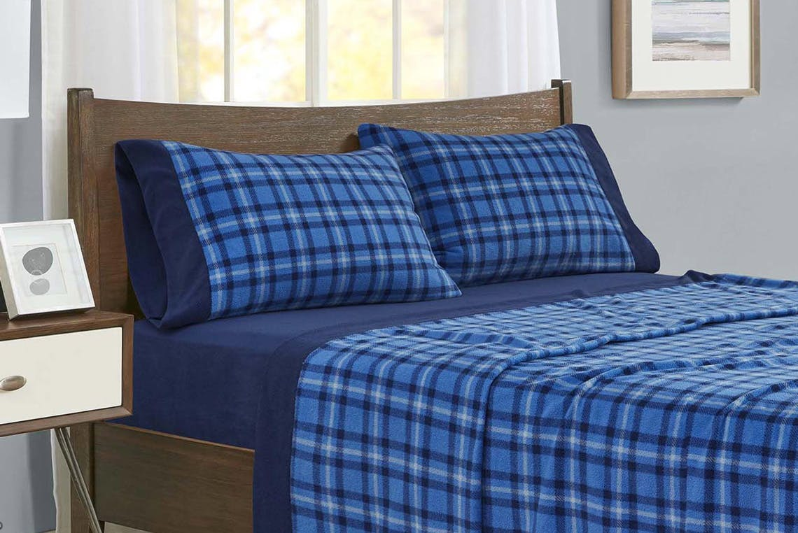 Fleece Flannel Sheet Sets From 7 At Jcpenney The Krazy Coupon Lady