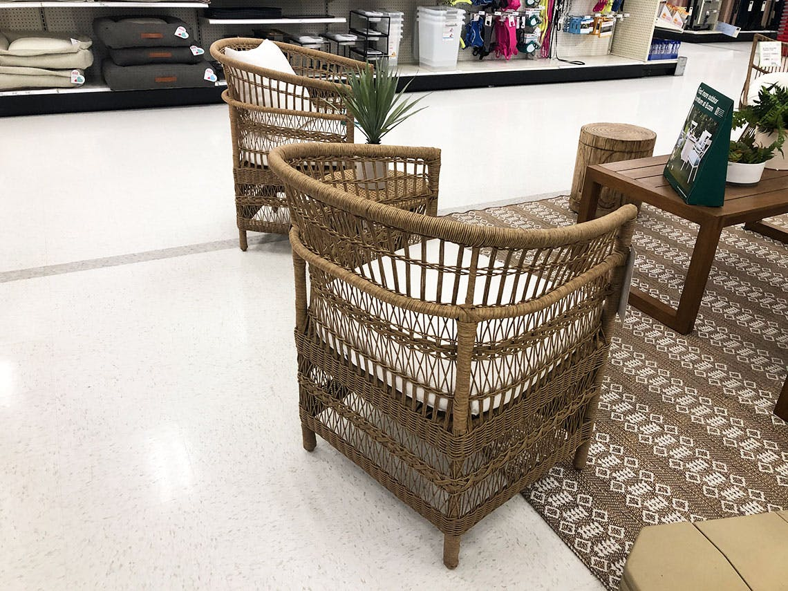 Threshold Mulberry Patio Chat Set Only 384 75 At Target The Krazy Coupon Lady
