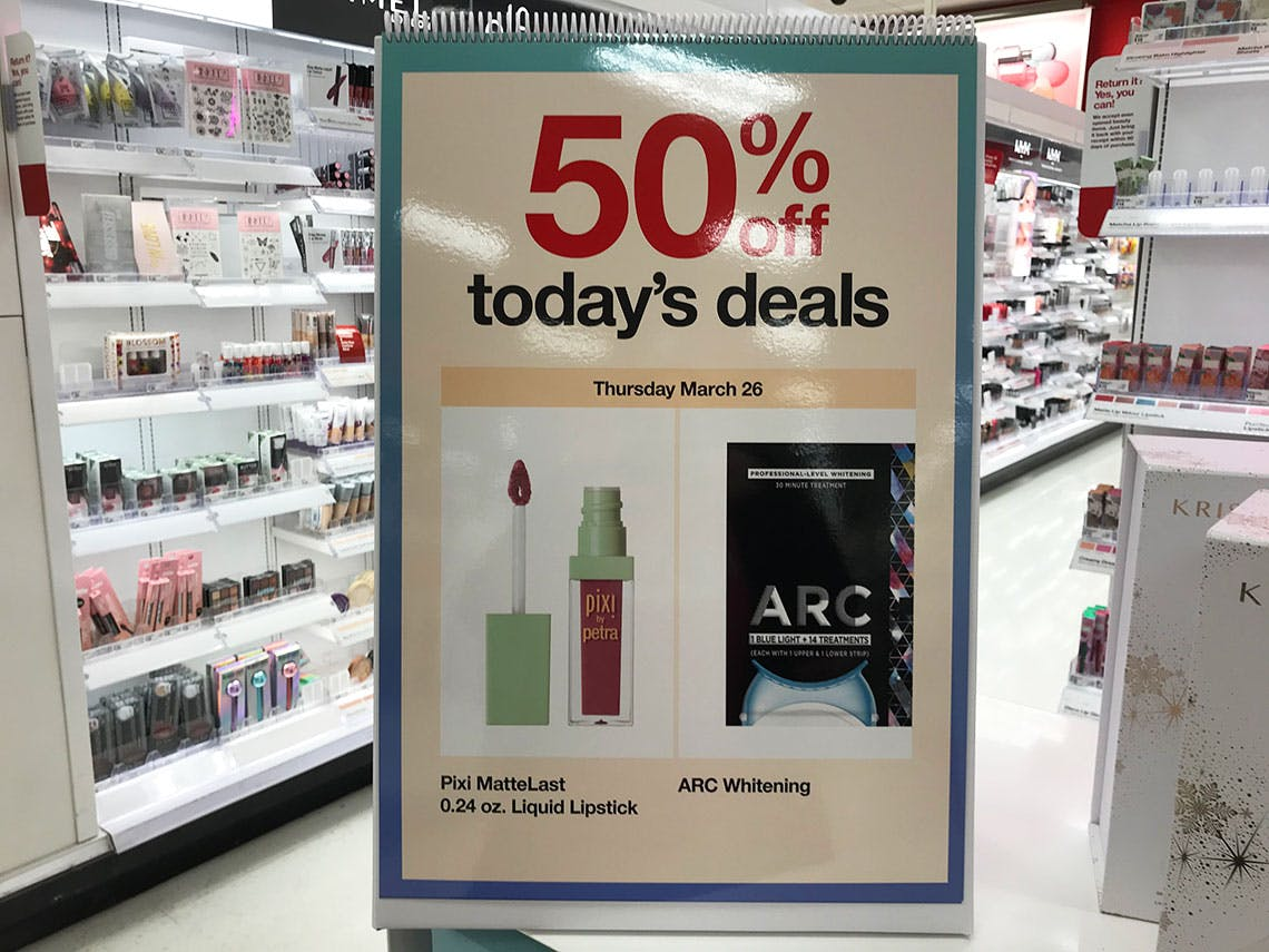 50 Off Pixi Arc Mineral Fusion At Target The Krazy Coupon Lady