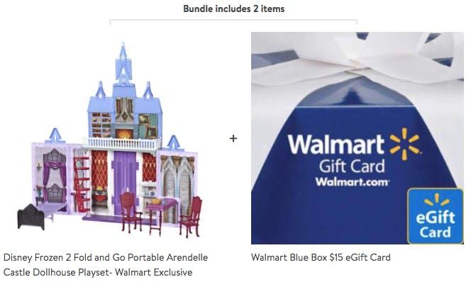 Frozen 2 Fold Go Arendelle Castle 35 On Walmart Com The Krazy Coupon Lady