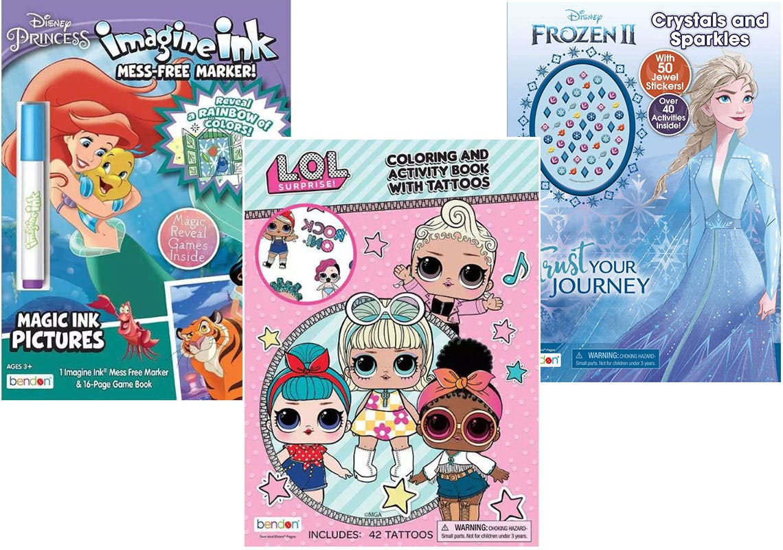50% Off Coloring Books For Kids At Target - The Krazy Coupon Lady