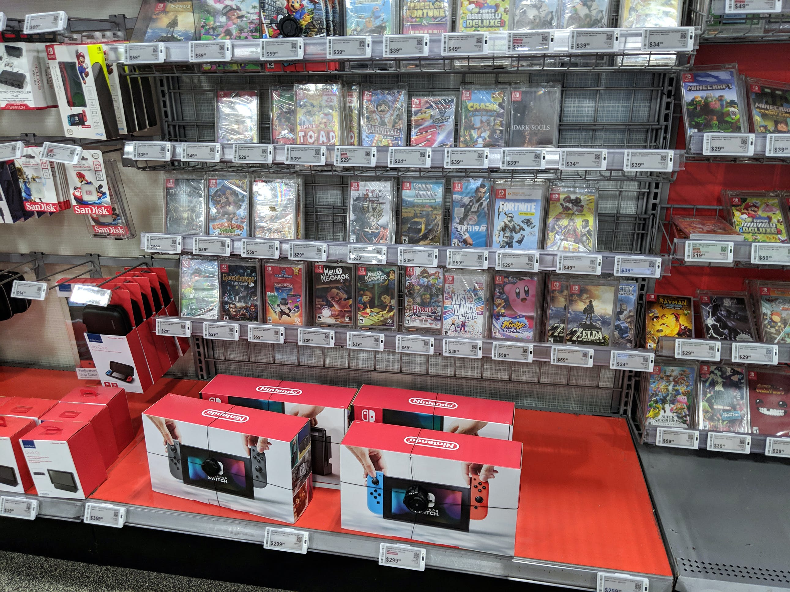 Nintendo Switch Games On Sale At Gamestop The Krazy Coupon Lady