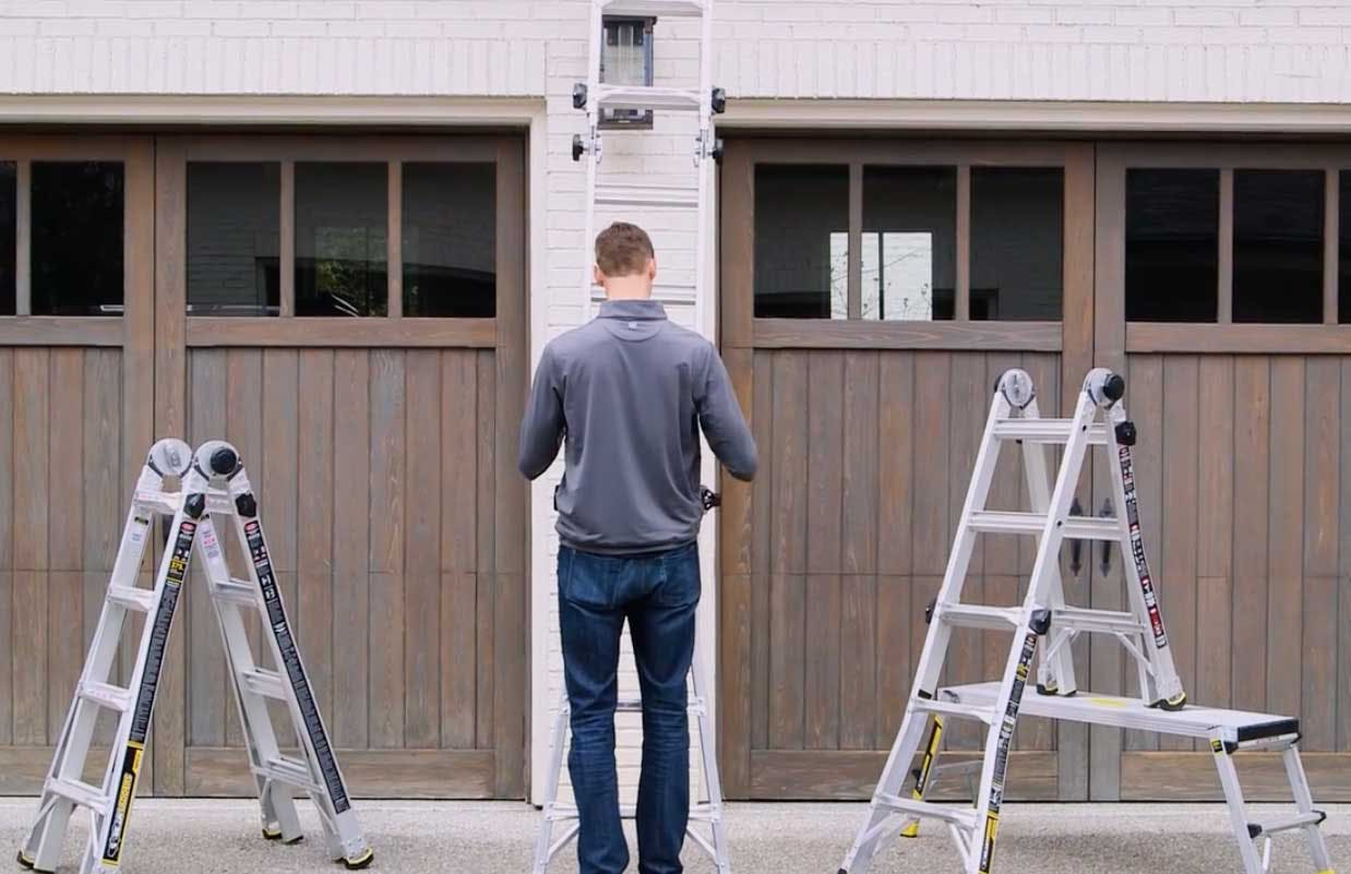 Gorilla Ladders 18 Multi Position Ladder 90 At Home Depot The Krazy Coupon Lady