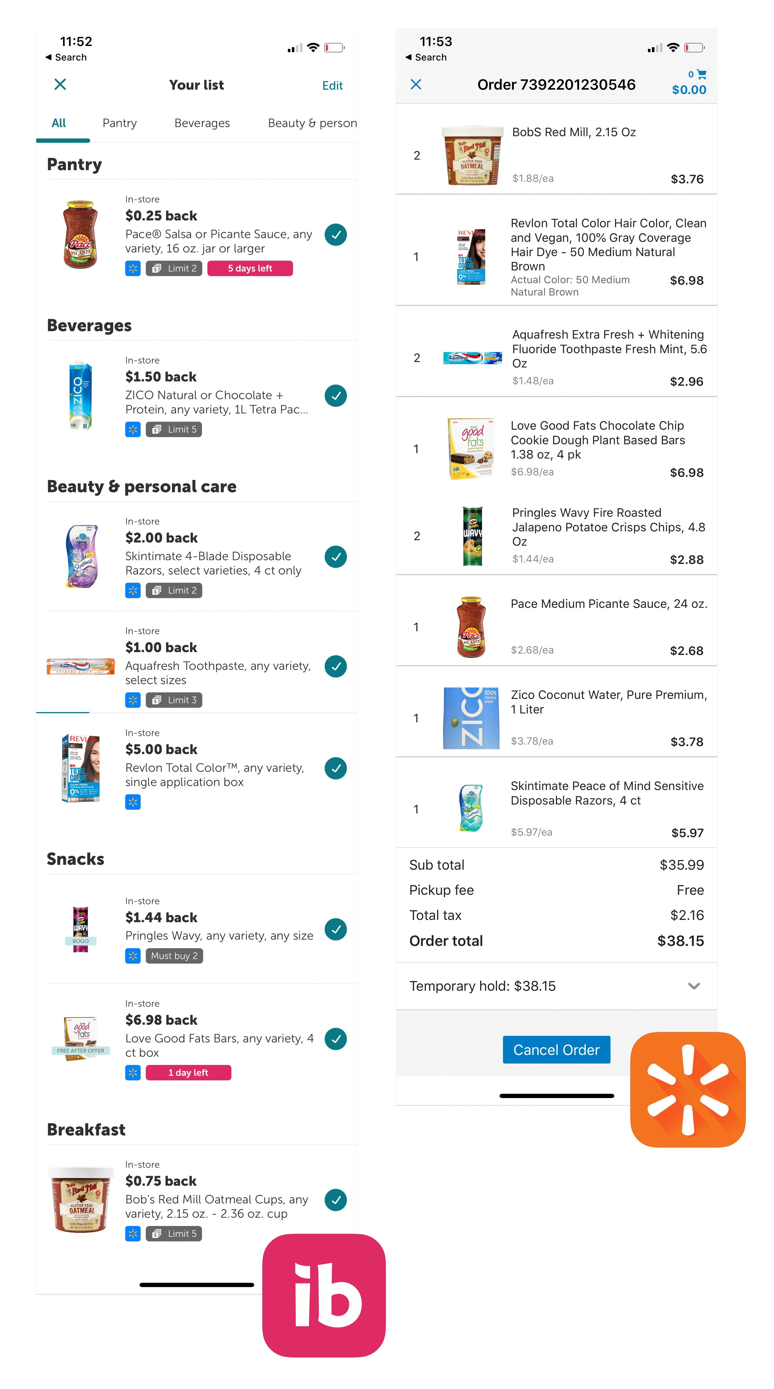 Ibotta Launches Rebates For Walmart Grocery Pickup The Krazy Coupon Lady