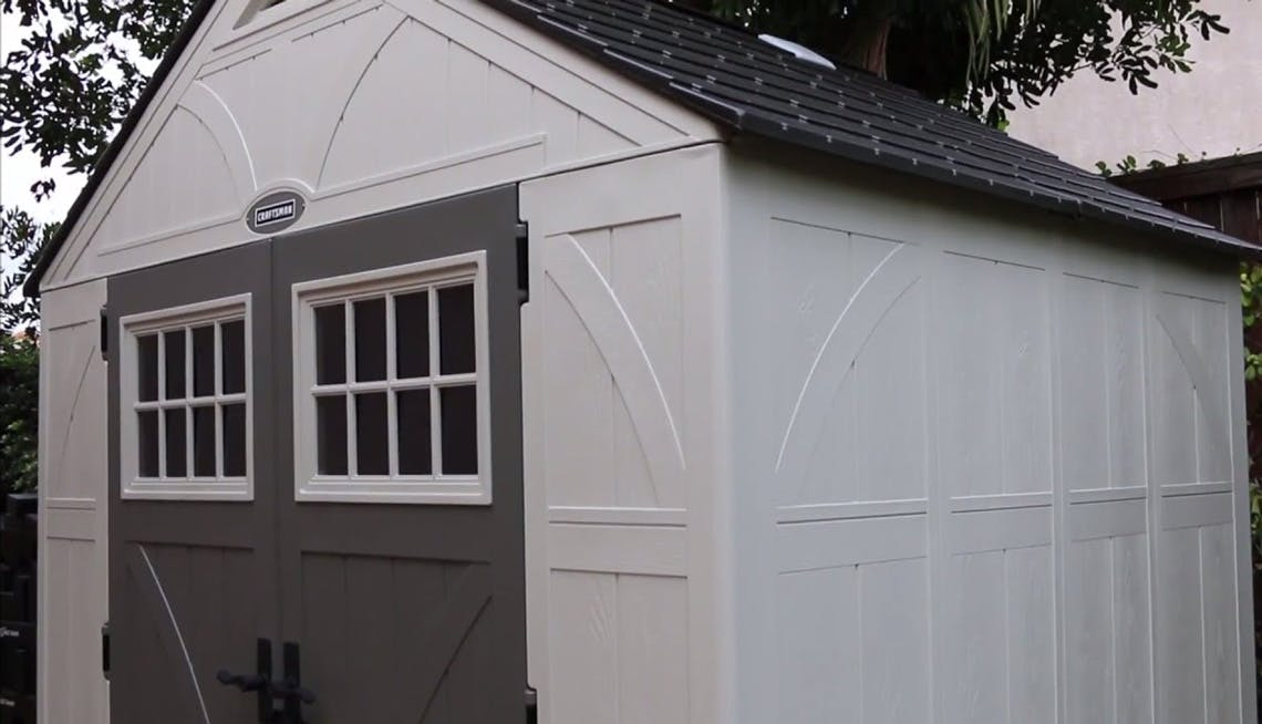Save Nearly 150 On Outdoor Sheds At Lowes Com The Krazy Coupon Lady