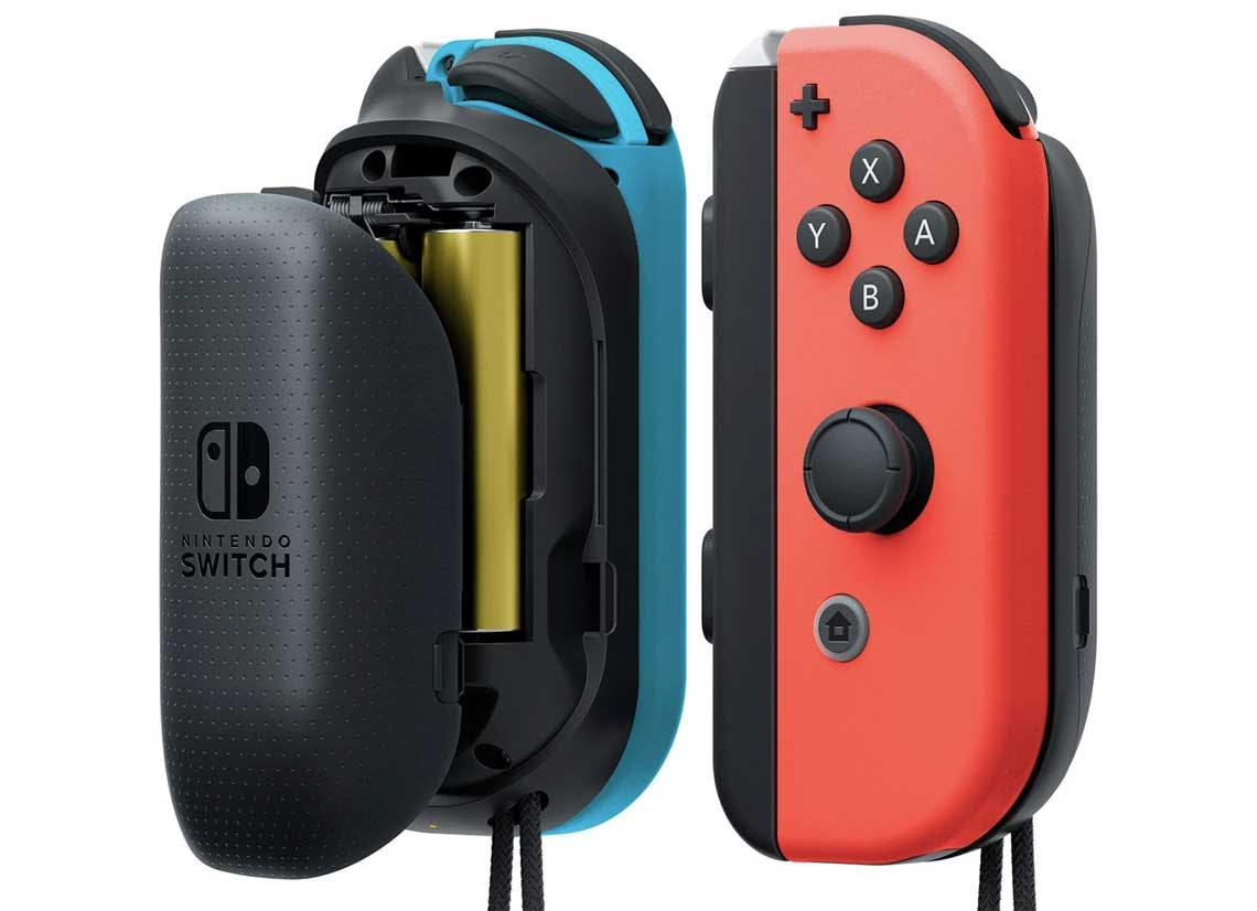 Nintendo Switch Joy Con L R Aa Battery Pack 22 30 At Walmart The Krazy Coupon Lady