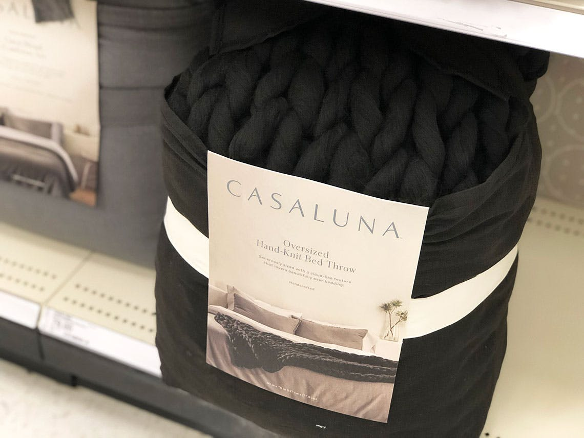 Casaluna Chunky Hand Knit Blanket Only 50 66 At Target The Krazy Coupon Lady