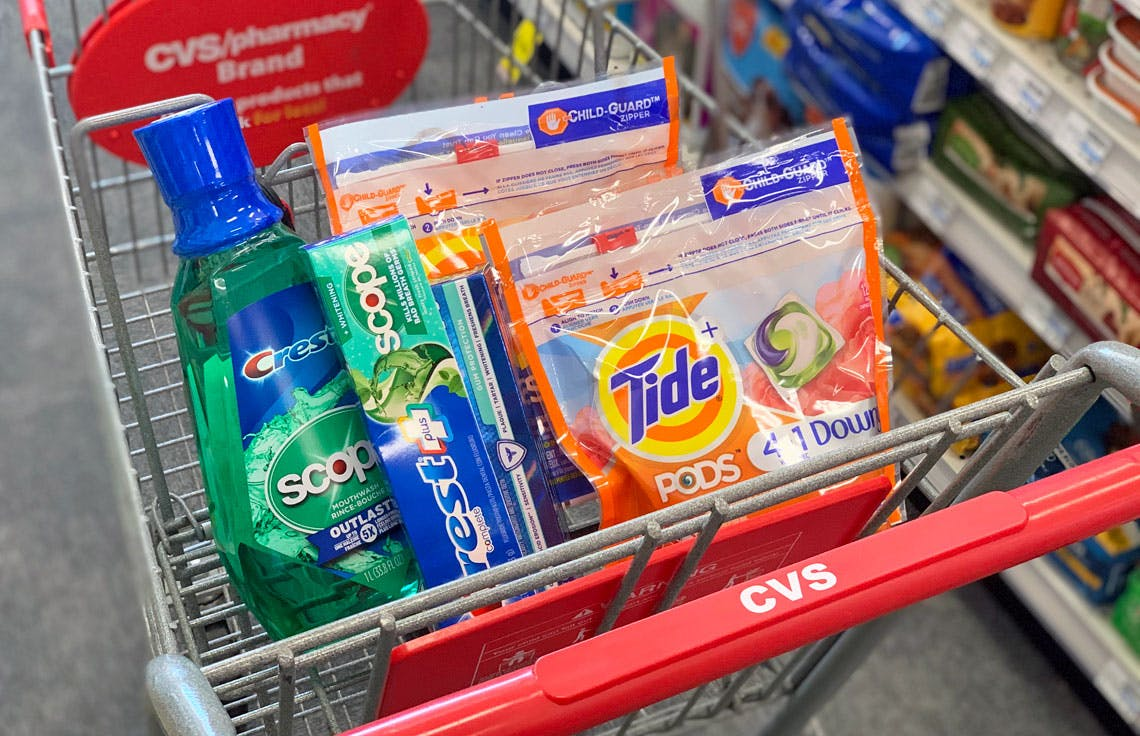 P G Rebate Tide And Crest Only 0 88 Each At Cvs The Krazy Coupon Lady