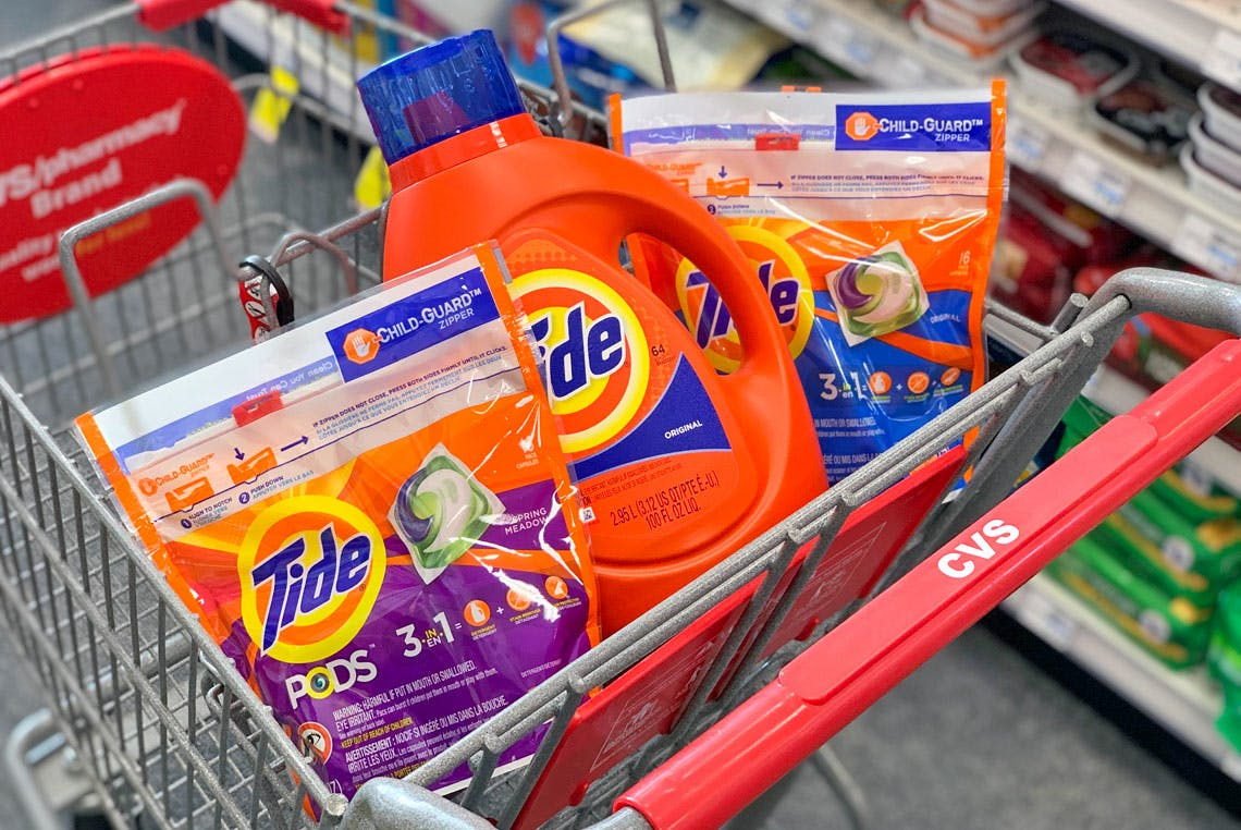 P G Rebate Tide Gillette More As Low As 0 67 Each At Cvs The Krazy Coupon Lady