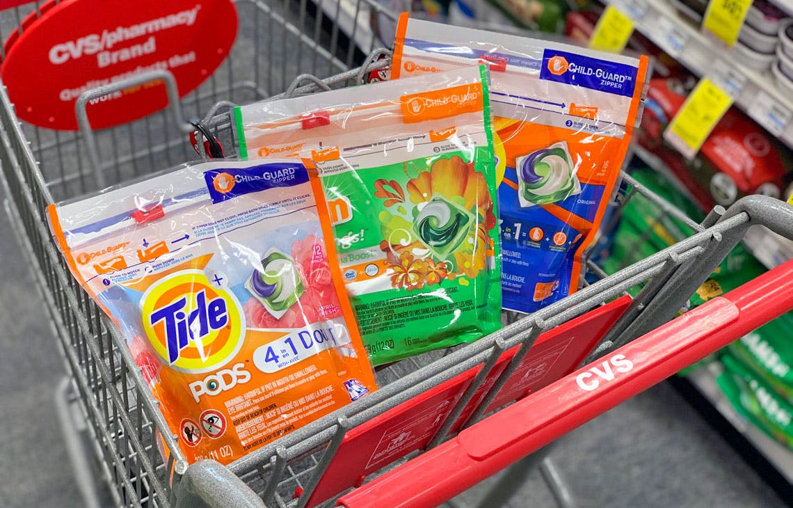 P G Rebate Pay As Low As 2 77 Each For Tide Gain More At Cvs The Krazy Coupon Lady
