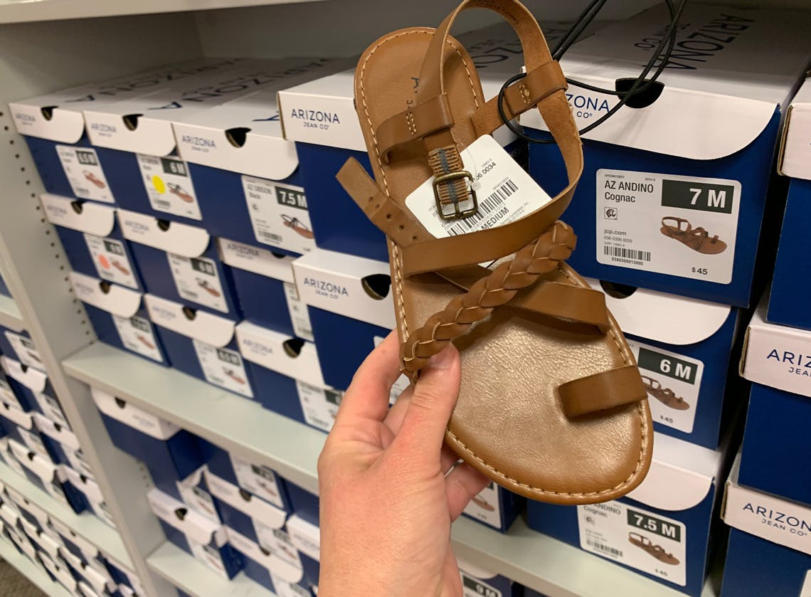 Sandals at JCPenney: Shop 20+ Styles