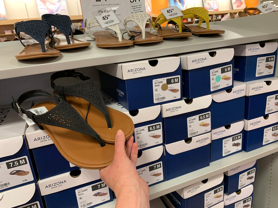 Sandals on Sale from $8 at JCPenney