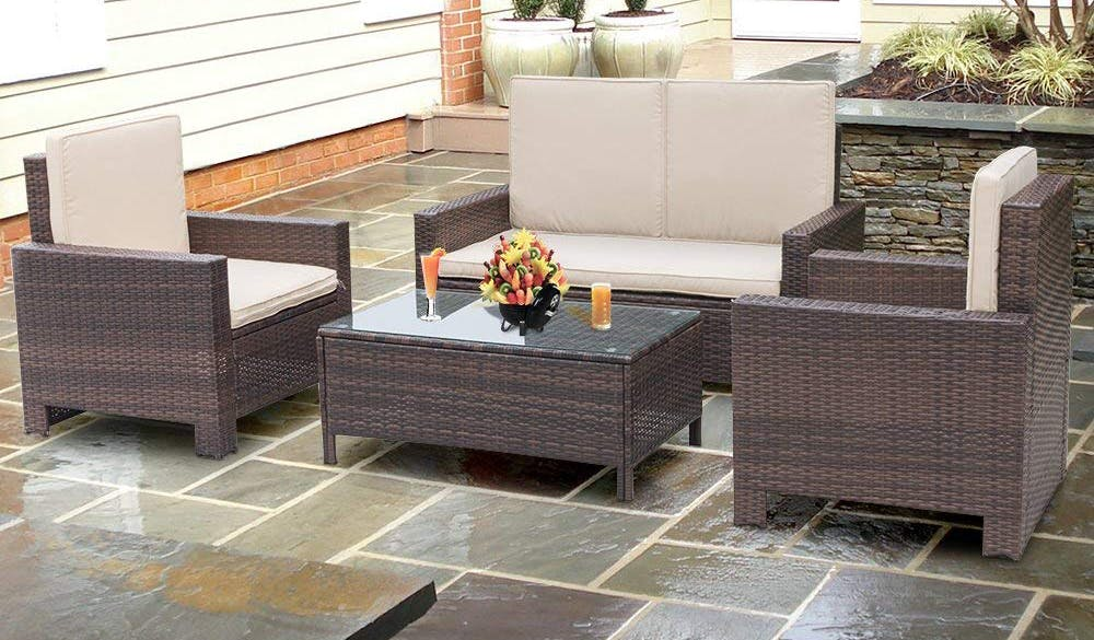 Patio Furniture Sets As Low As 320 At Walmart The Krazy Coupon Lady