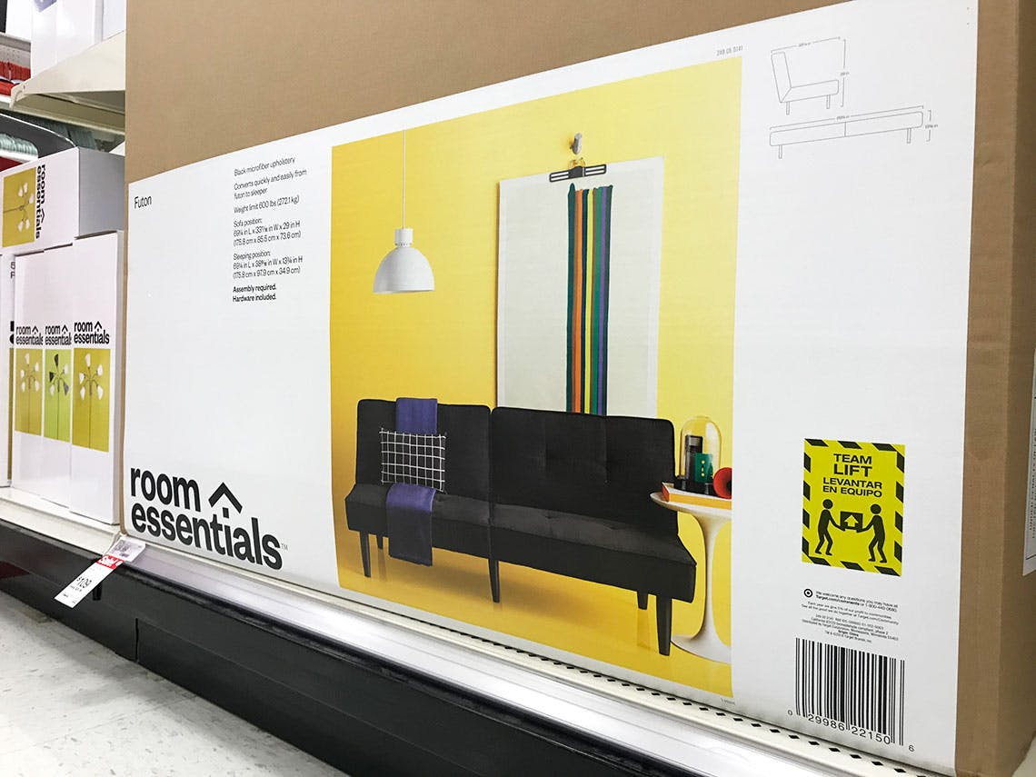 Room Essentials Futon Only 103 55 At Target The Krazy Coupon Lady