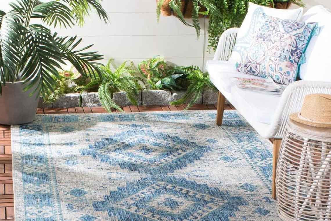 Safavieh 5 X 8 Indoor Outdoor Area Rugs 49 At Lowe S The Krazy Coupon Lady