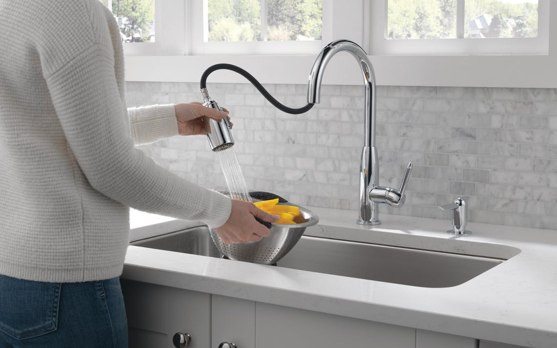Peerless Pull Down Kitchen Faucet 42 On Walmart Com The Krazy Coupon Lady