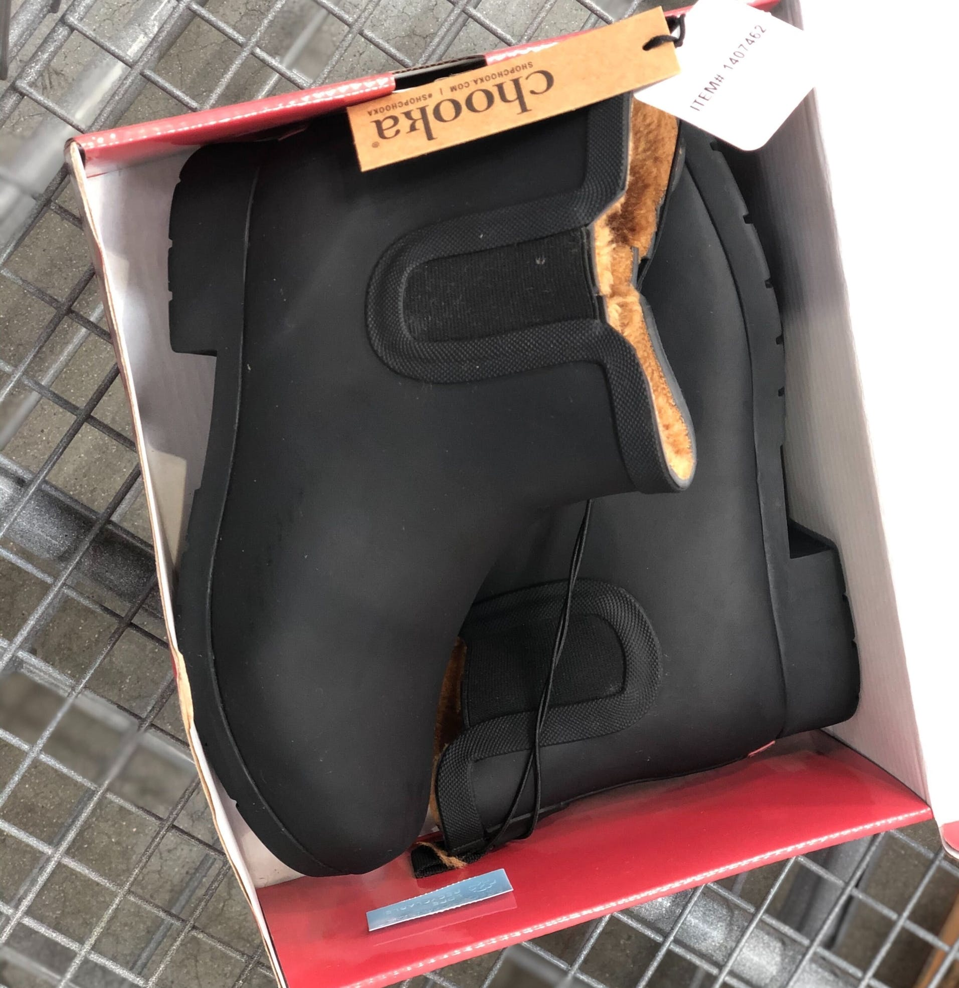 Chooka Plush Rain Boots, Only $21.99 at